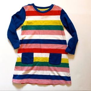 Mini Boden Rainbow Dress 🌈